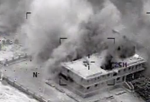 (Un frame del video diffuso dall'esercito Usa)