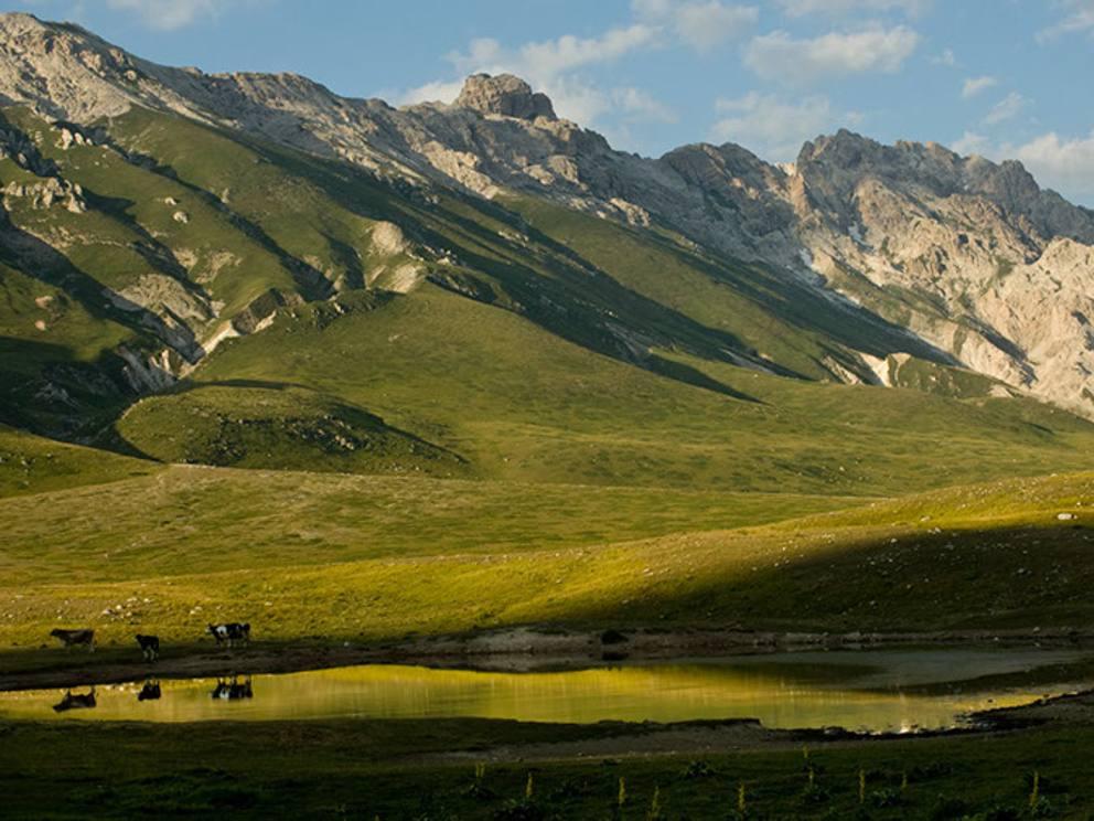 Se l abruzzo sembra il tibet foto magiche for Volantino acqua e sapone l aquila
