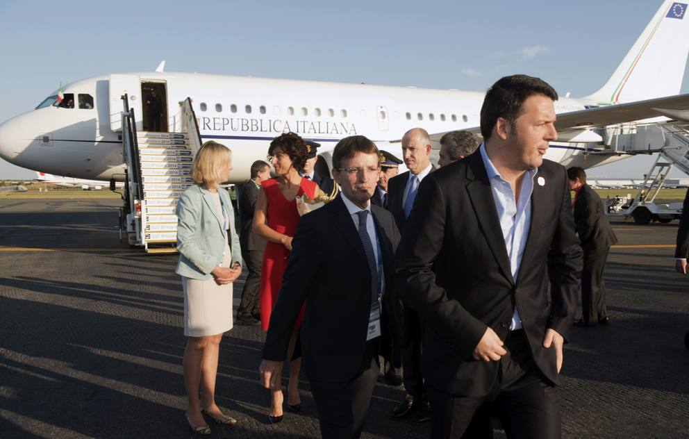 L arrivo dei grandi a brisbane per il g20 for Landini cucine ginevra
