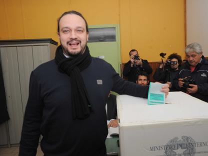 Il candidato della Lega Alan Fabbri  al seggio a Ferrara