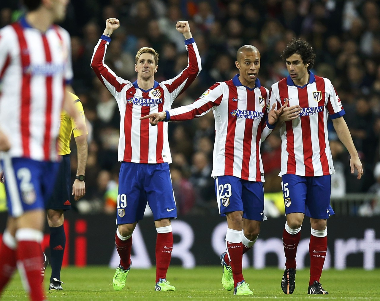 Fernando Torres scores first goal for Atletico Madrid since 2007