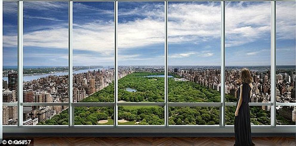 Record a new york venduto attico da 100 milioni di for Attico new york vendita