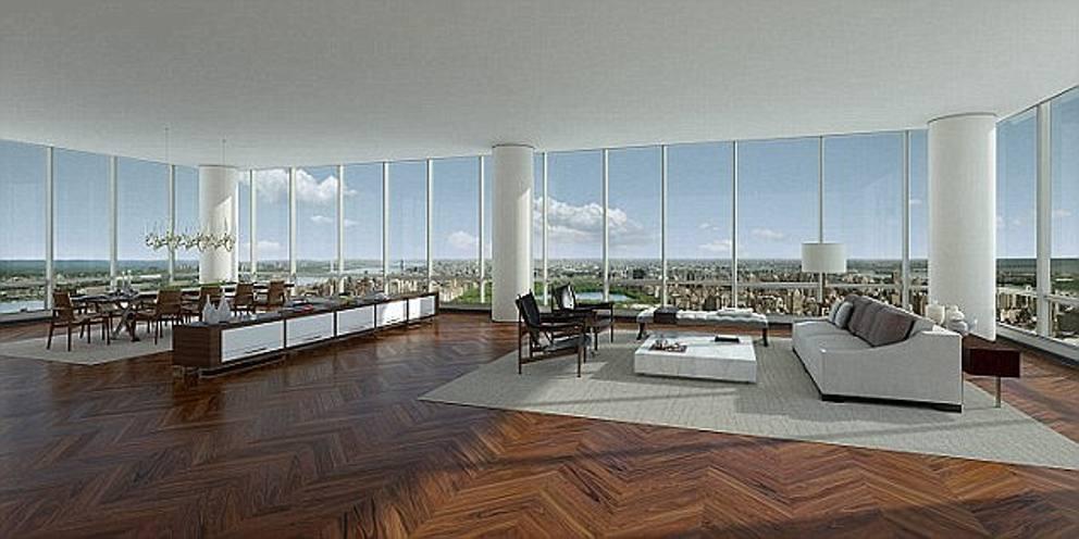 Record a new york venduto attico da 100 milioni di for Appartamenti a new york manhattan in vendita