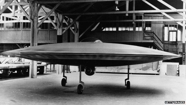 Il couzinet aerodyne rc 360 è un disco volante ma senza alieni a