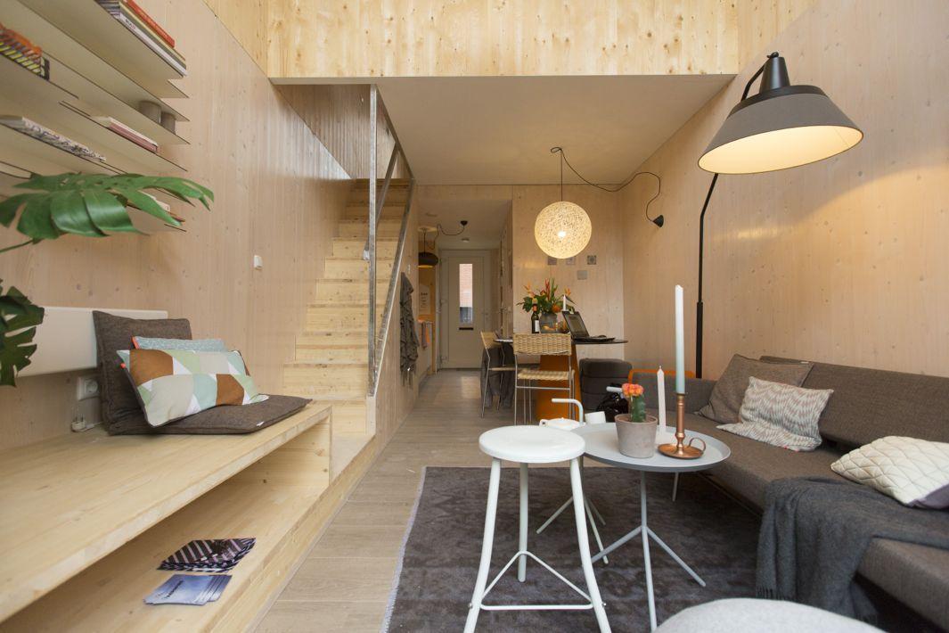 La casa del futuro si sposta in 24 ore for Costo medio a lato di una casa a 2 piani