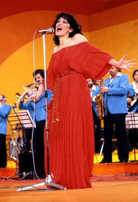 Al Baño Piazza Grande:Dora Moroni, esclusa dalla classifica al Festival del 1978 (Olycom)