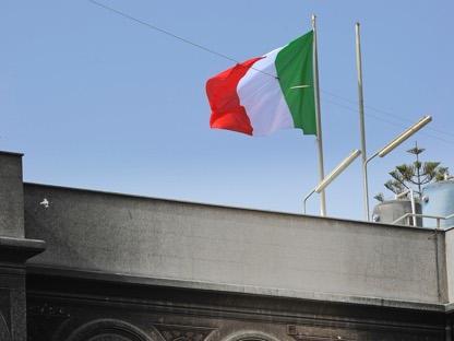 L'ambasciata italiana a  Tripoli (Epa)