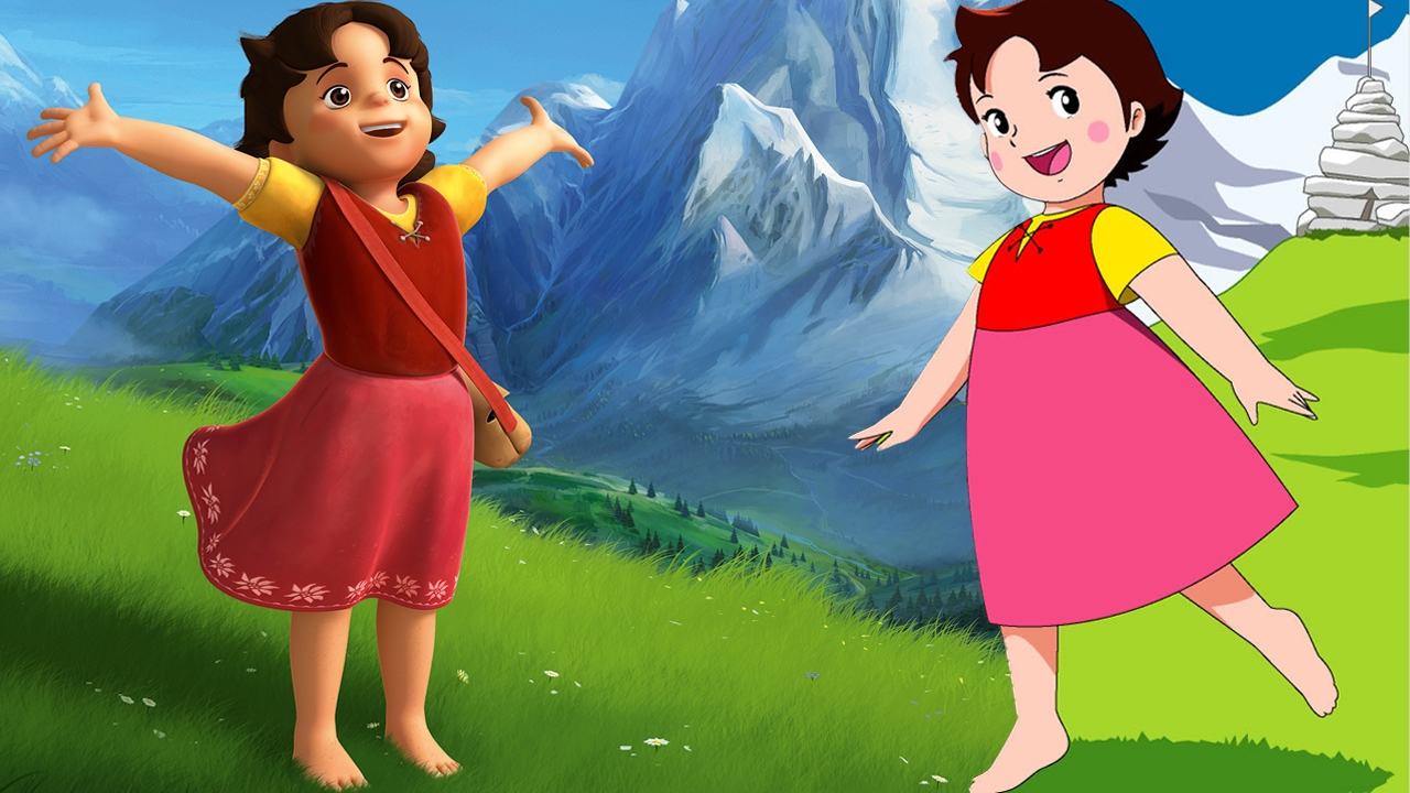 Heidi il vecchio e nuovo cartoon a confronto corriere