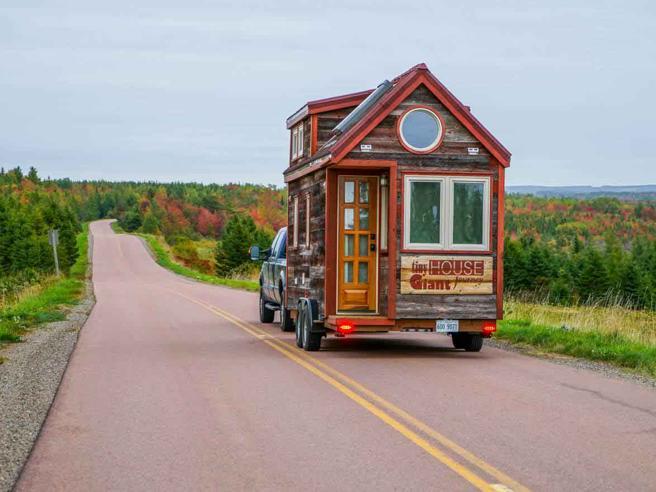 Il giro del mondo nella mini casa su ruote for Corriere della sera casa