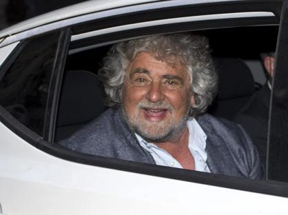 Beppe Grillo, fondatore del Movimento 5 Stelle (Ansa)