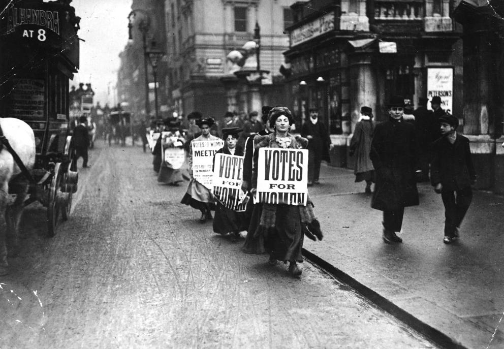 the impact of the first world war on womens suffrage For men, women, and children confined to the home front between 1914 and   the effect of widening employment opportunities for women was ambiguous   war work would make female suffrage politically unavoidable.