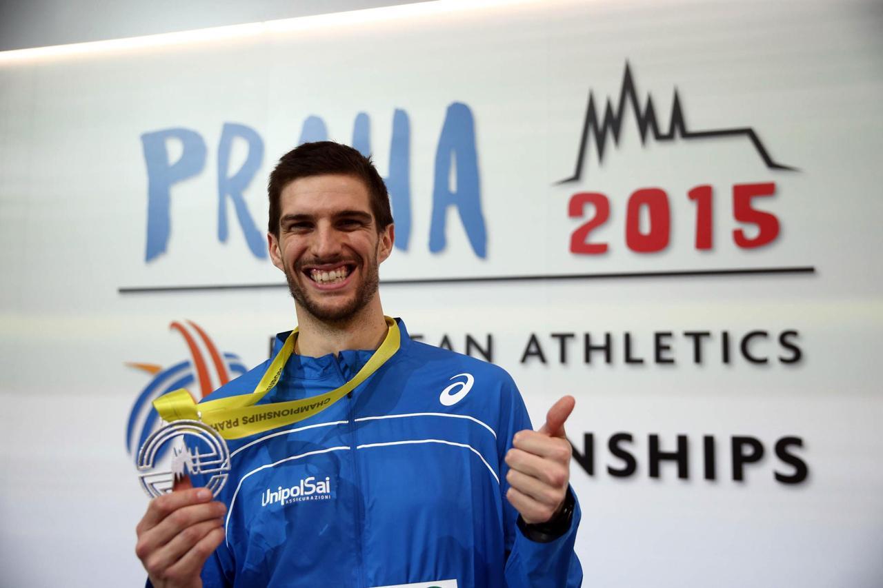 Silvano Chesani Praga Chesani d39argento nel salto in altoDel Buono bronzo