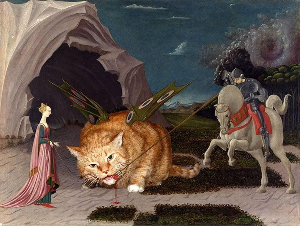 Zarathustra il gatto rosso e grasso nei quadri pi belli della storia - Venere allo specchio tiziano ...