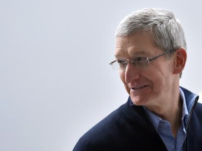 L'amministratore delegato di Apple, Tim Cook