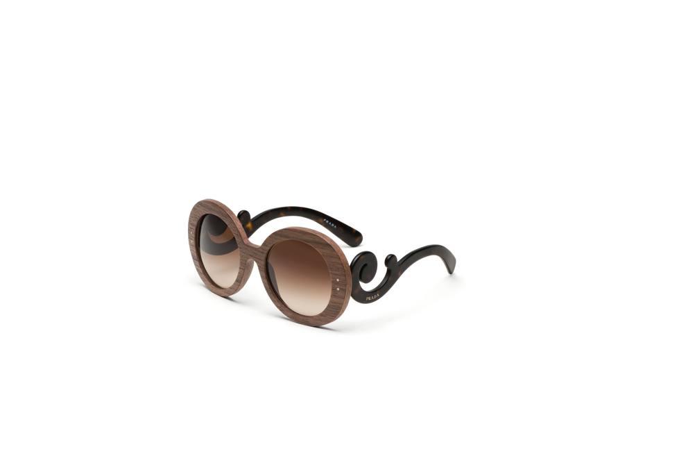 In esclusiva nelle boutique prada gli occhiali in legno for 31 twenty five boutique