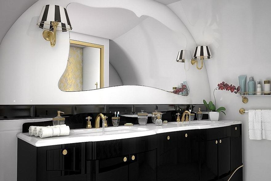 Il Lusso In Casa10 Bagni In Marmo : Roulette bagni in marmo e acquari quando il lusso vola