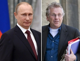 Vladimir Putin (a sinistra) e Daniel Cohn-Bendit