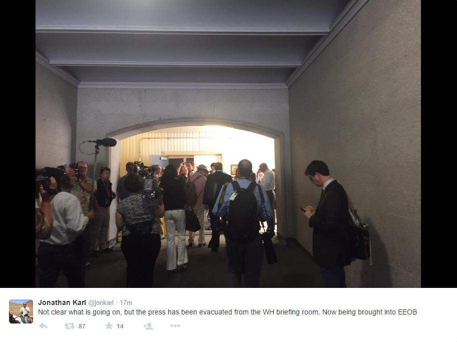 Usa evacuata la sala stampa della casa bianca for Corriere della sera casa