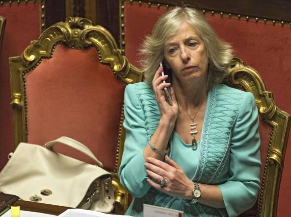 Il ministro dell'Istruzione Stefania Giannini (Benvegn�-Guaitoli)