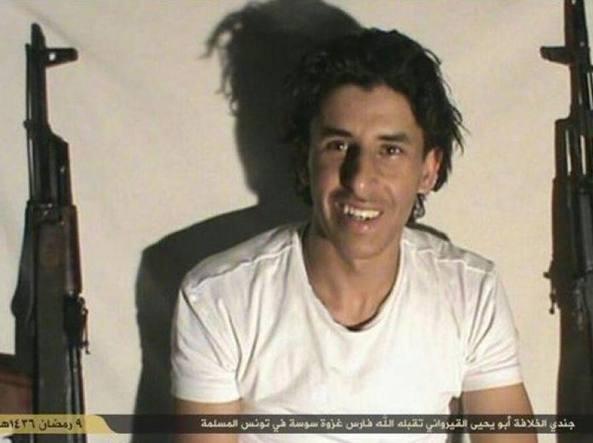 Seifeddine Rezgui, il killer che ha ucciso 38 persone in un resort a Sousse (Epa)