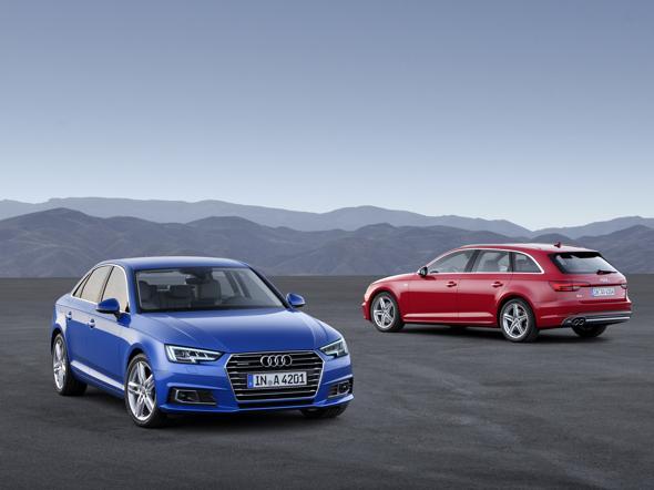 Nuova Audi A4 berlina e Avant