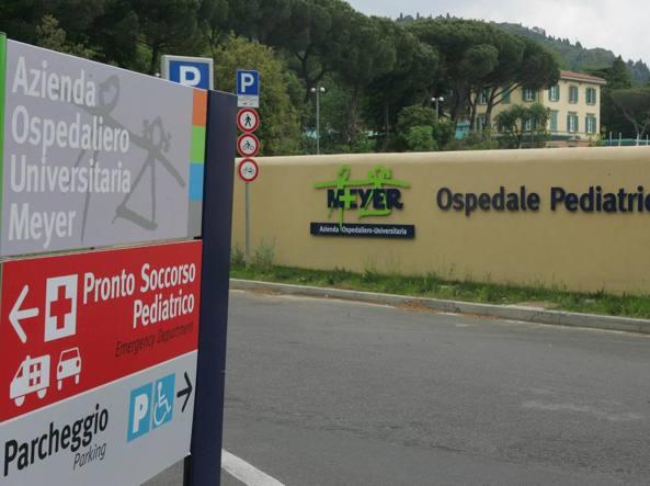 L'ospedale Meyer di Firenze (Ansa)