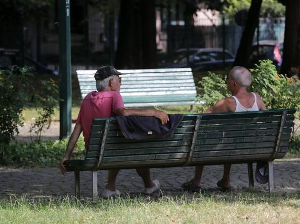 Parco delle Basiliche-Milano (Fotogramma)