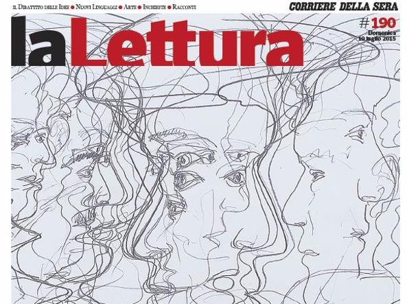 La copertina della nuova edizione de la Lettura in edicola domenica 19 luglio (Immagine di Tony Cragg)