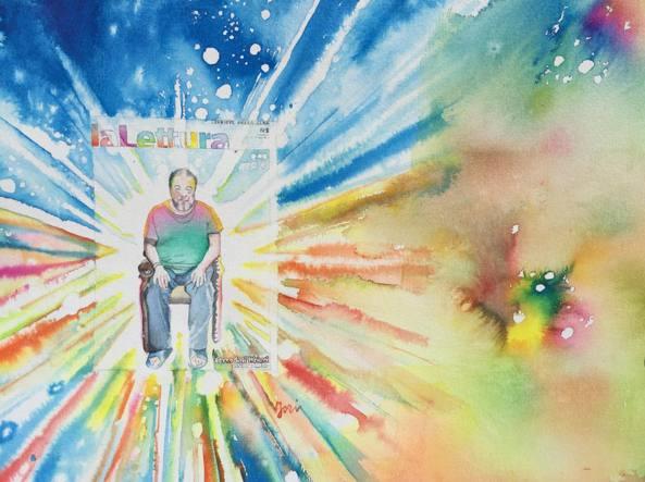 «Big bang», opera di Marcello Jori per il «Corriere della Sera»