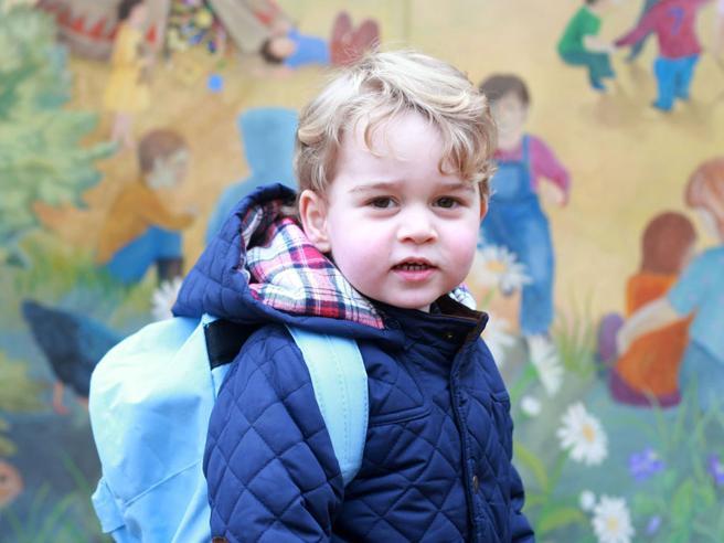 Il principino George pronto per la scuola «borghese» (da 7mila euro a semestre)