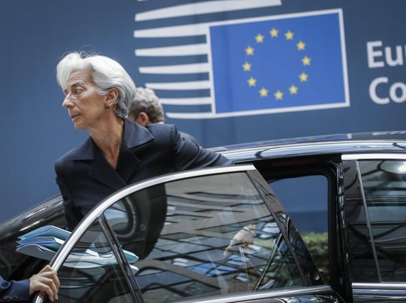 Christine Lagarde, direttore Fmi (Epa)