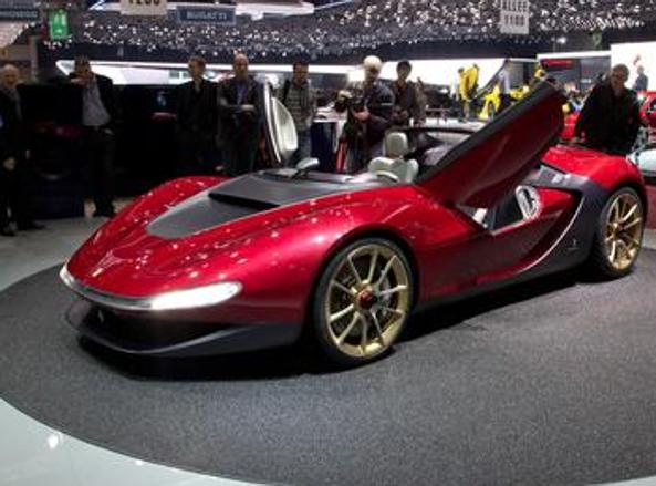 La Sergio Pininfarina Concept car         presentata a ginevra nel 2013