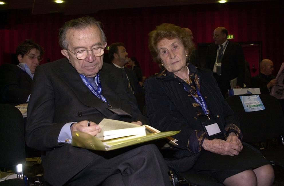 Morta livia andreotti per 68 anni moglie del divo giulio - Andreotti il divo ...