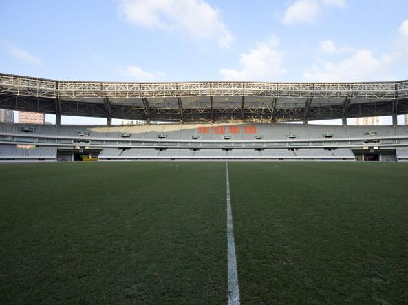 Supercoppa italiana a shanghai il terreno di gioco for Gioco dello shanghai