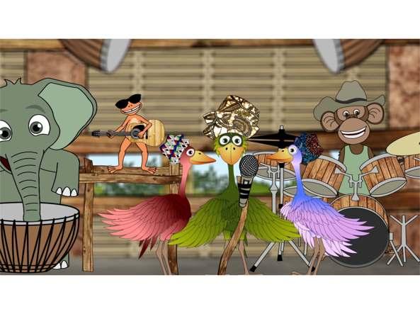 Viene dall africa il cartone animatoche insegna la