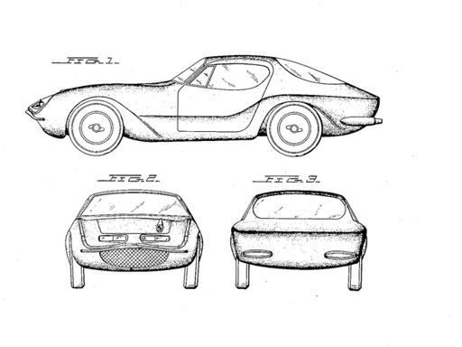 se i brevetti delle auto diventano dei quadri