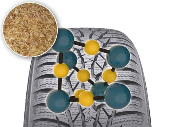 L'aggiunta di silice alla mescola degli pneumatici aumenta l'aderenza al suolo, la durata e diminuisce il consumo di carburante