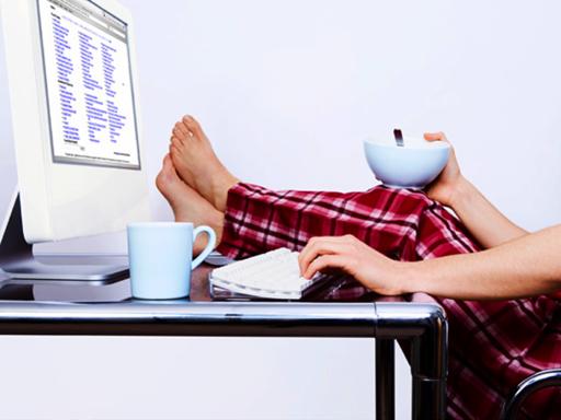 Come restare in buona salute lavorando da casa
