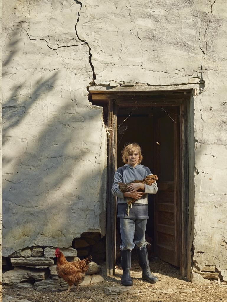 Lungo il centesimo meridiano dove intimo e infinito si for Piani di casa del ranch vivente del sud