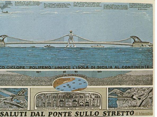 Ponte sullo stretto di messina telenovela che dura da 150 for Ponte sopra i disegni del garage