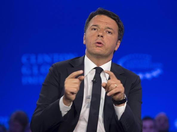 Il premier Matteo Renzi (Ansa)
