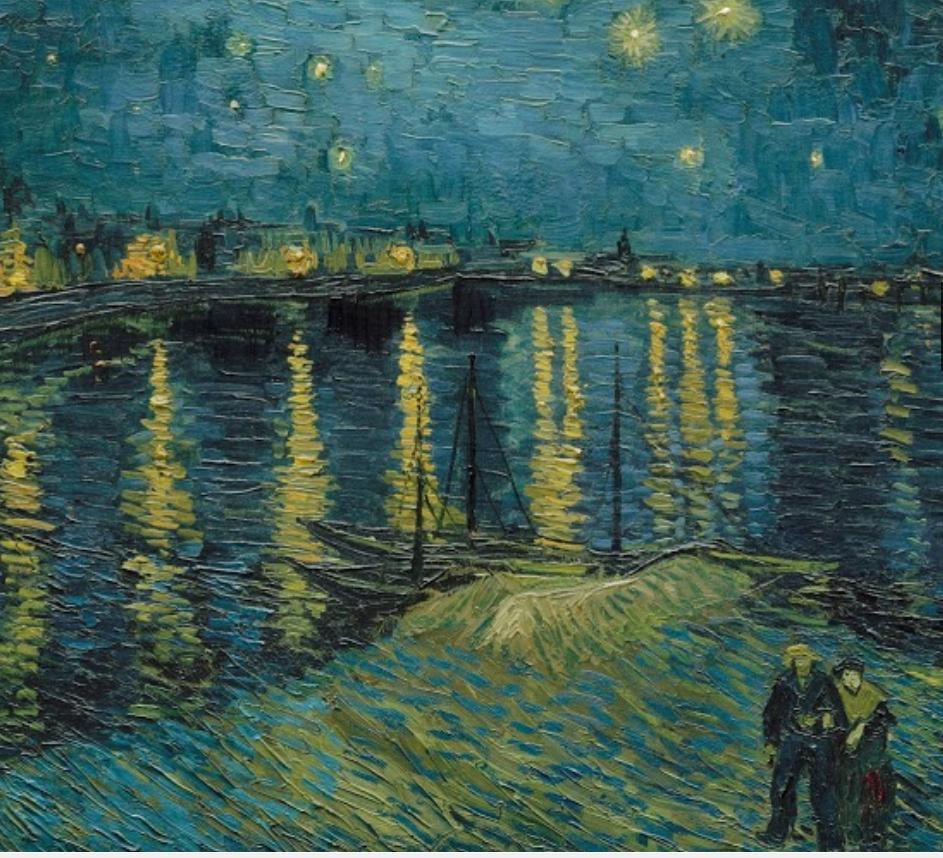 Van gogh e munch lacrime di stellei due maestri a for Dipinto di van gogh notte stellata