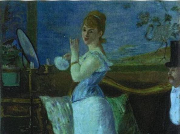 Nana (1877) di Édouard Manet (1832-1883)