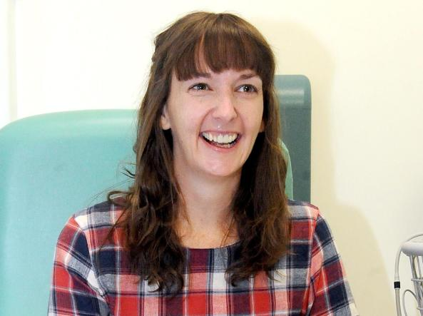 L'infermiera Pauline Cafferkey, 39 anni: ha contratto l'Ebola in Sierra Leone (Ap)