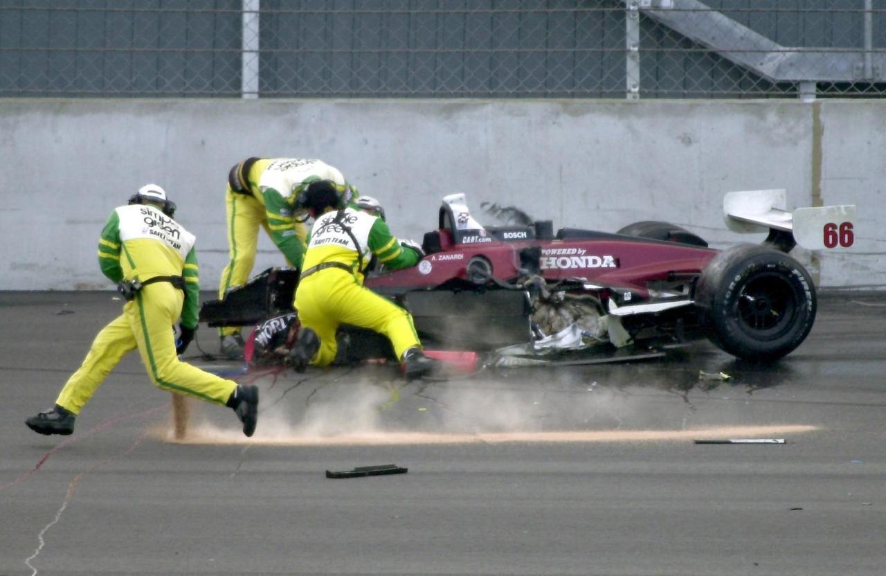 In Profile Alex zanardi crash pictures images