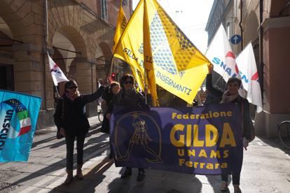 La scuola torna in piazza, proteste in tutta Italia