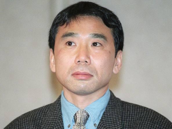 Haruki Murakami 66 anni (Foto Afp)