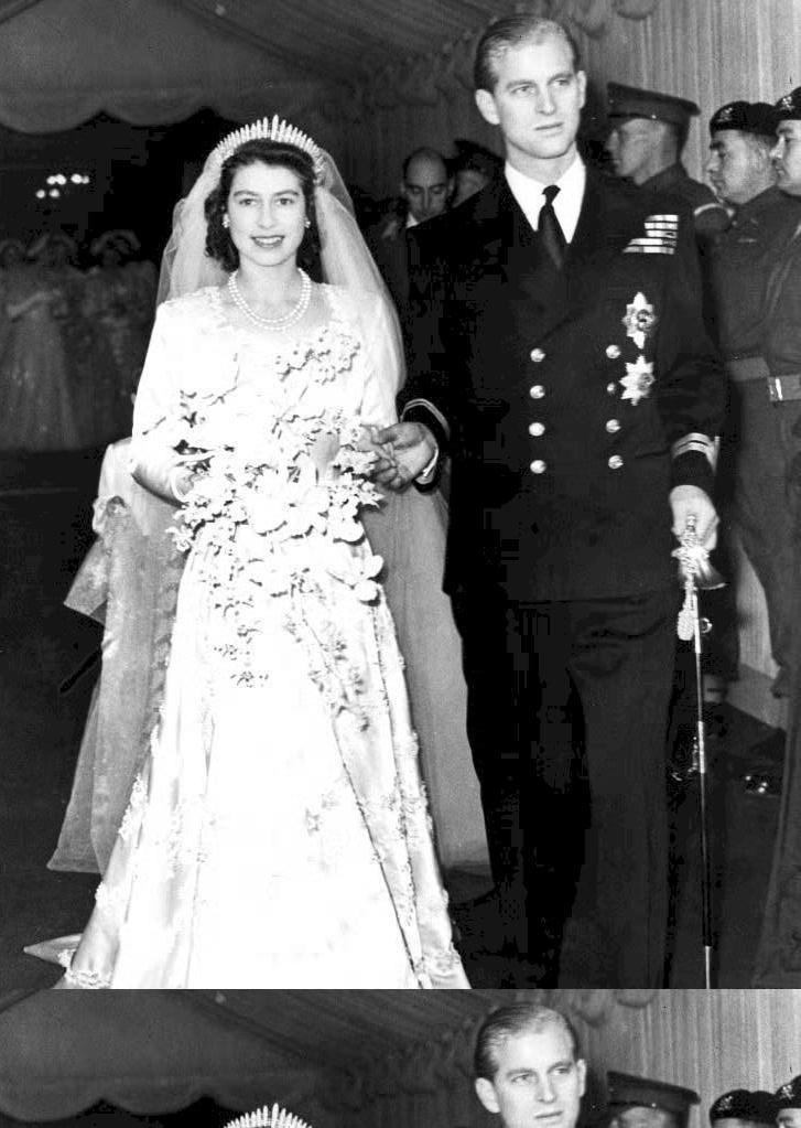 Matrimonio In Inghilterra : La regina elisabetta e il principe filippo insieme da