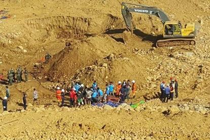 Birmania, 90 morti nella miniera di giada