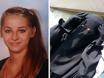 Samra Kesinovic, 17 anni prima e dopo la partenza per il Califfato